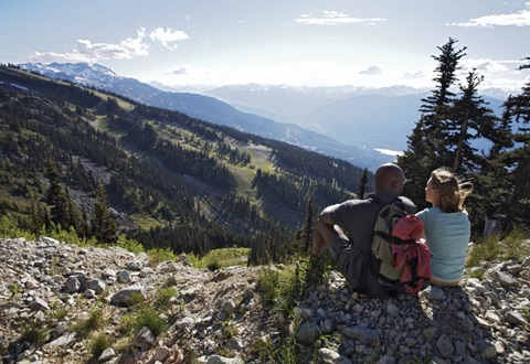 Whistler Resort Scenic Hiking